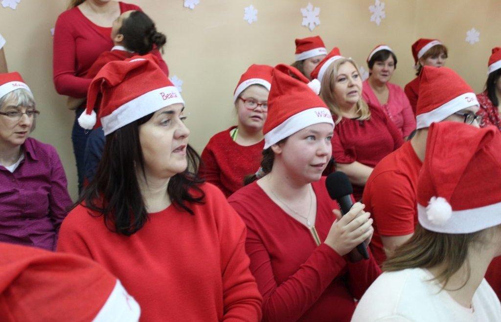 Święty Mikołaj w OREW Przybiernów