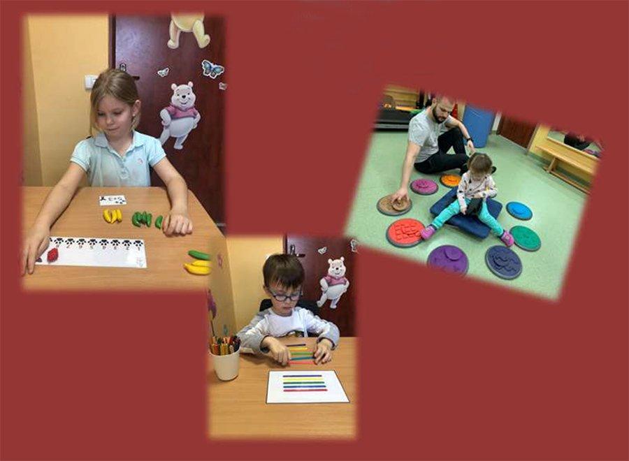 dzieci w trakcie zajęć manualnych